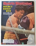 Sports Illustrated Magazine Sept 26, 1977 Roberto Duran