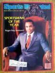 Click to view larger image of Sports Illustrated Magazine-Dec 1981/Jan 1982-Sugar Ray (Image1)