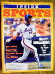 Click here to enlarge image and see more about item 2971: Inside Sports Magazine-March 1984-Darryl Strawberry