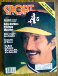 Click to view larger image of Sports Magazine-May 1981-Oakland's Billy Martin (Image1)