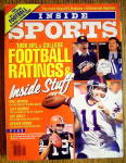 Inside Sports Magazine-August 1990-NFL/College Football
