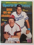Sports Illustrated Magazine-Aug 10, 1981-Schmidt/Brett