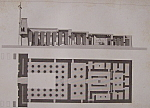 Temple De Khons, A Karnac  (1852 Lithograph)
