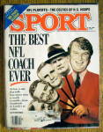 Click to view larger image of Sport Magazine-Feb 1988-Best NFL Coach Ever (Image1)
