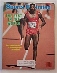 Sports Illustrated Magazine August 22, 1983 Carl Lewis