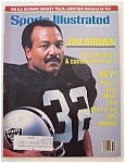 Sports Illustrated Magazine - Dec 12, 1983 - Jim  Brown