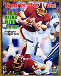 Sports Illustrated Magazine-December 19, 1983-J Riggins