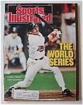 Sports Illustrated Magazine -Oct 26, 1987- Dan Gladden