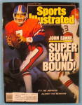 Sports Illustrated Magazine-Jan 25, 1988-John Elway