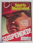 Sports Illustrated Magazine - May 9, 1988 - Pete Rose