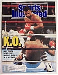 Sports Illustrated Magazine -July 4, 1988- Mike Tyson