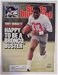 Sports Illustrated Magazine-August 1, 1988-Tony Dorsett