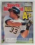 Sports Illustrated Magazine-October 17, 1988-J Canseco