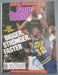 Sports Illustrated Magazine -November 7, 1988-K. Malone