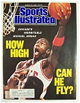 Sports Illustrated-March 13, 1989- Michael Jordan