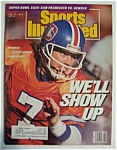 Sports Illustrated Magazine-January 22, 1990-John Elway