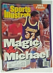 Sports Illustrated Magazine-June 10, 1991-Magic/Michael