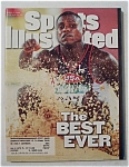Sports Illustrated Magazine -August 5, 1996- Carl Lewis