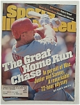Sports Illustrated Magazine-August 3, 1998-Mark McGwire