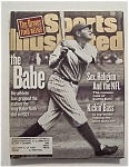 Sports Illustrated Magazine-August 24, 1998-The Babe