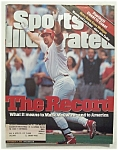 Sports Illustrated Magazine-September 14, 1998-McGwire