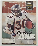 Sports Illustrated Magazine-September 28, 1998-T Davis