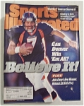 Sport Illustrated Magazine-November 30, 1998-John Elway