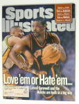 Click to view larger image of Sports Illustrated Magazine -June 7, 1999- L. Sprewell (Image1)