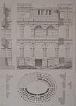 Amphitheatre De Pola  (1852 Lithograph)