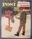 Saturday Evening Post Cover By Prins - Dec 17, 1960