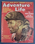 Click here to enlarge image and see more about item 4029: Vintage Adventure Life Magazine - April  1957