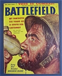 Click here to enlarge image and see more about item 4032: Vintage Battlefield Magazine - August  1958