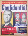 Click here to enlarge image and see more about item 4033: Confidential Magazine January 1960 Jimmy Stewart & More