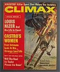 Vintage Climax Magazine For Men - November  1963