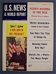 Click here to enlarge image and see more about item 4039: U.S. News & World Report Magazine - March 17, 1969