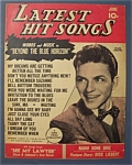 Click here to enlarge image and see more about item 4046: Latest Hit Songs Magazine-June 1945-Frank Sinatra Cover