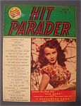 Click here to enlarge image and see more about item 4052: Hit Parader Magazine - July 1948 - Janet Blair Cover