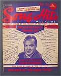 Click here to enlarge image and see more about item 4119: Song Hits Magazine - December 1949 - Bob Hope Cover