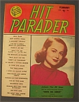 Click here to enlarge image and see more about item 4126: Hit Parader -Feb 1950- Olivia De Haviland Cover
