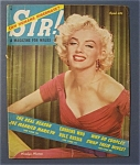 Sir Magazine - April 1954 - Marilyn  Monroe  Cover