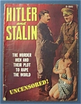 Click here to enlarge image and see more about item 4161: Hitler And Stalin Magazine - 1940