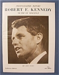 Click here to enlarge image and see more about item 4168:  Robert F. Kennedy Photographic Report - 1968