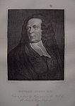 Click here to enlarge image and see more about item 416: 1881 Edward Young D.D. Engraving