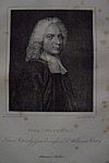 Click here to enlarge image and see more about item 417: 1881 Engraving of Isaac Watts D.D.