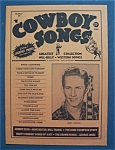 Click here to enlarge image and see more about item 4230: Cowboy Songs Magazine - July 1959 - Chet Atkins Cover