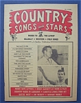 Click here to enlarge image and see more about item 4234: Country Songs & Stars Magazine - March 1965