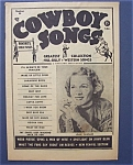 Click here to enlarge image and see more about item 4235: Cowboy Songs- March 1958 -Jean Shepard