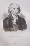 Founding Father President James Madison 1849 Engraving