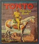 Click here to enlarge image and see more about item 4282: Tonto  Coloring  Book - 1957
