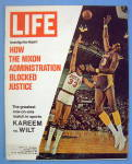 Life Magazine-March 24, 1972-Kareem vs. Wilt